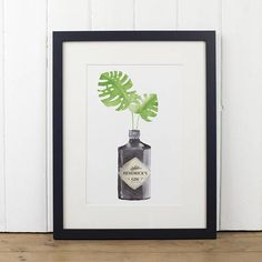 Hey, I found this really awesome Etsy listing at https://www.etsy.com/uk/listing/544302377/hendricks-gin-botanical-watercolour