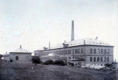 Hellebæk Klædefabrik 1900