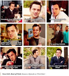Nick Miller -- The First Date (New Girl)