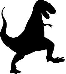 Billedresultat for stencil t-rex