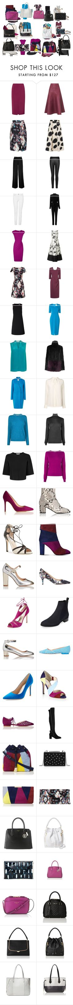 """Untitled #3324"" by luciana-boneca on Polyvore featuring L.K.Bennett, women's clothing, women's fashion, women, female, woman, misses and juniors"