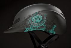 Vibrant, and unmistakable, this is not your ordinary helmet --> The Rebel Rose http://www.troxelhelmets.com/products/rebel