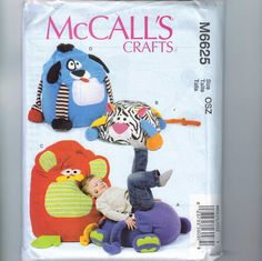 New M6414 McCallss 6414 Door And Draft Stops Sewing Pattern