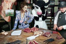 Photographer: Erick Le Strange  Creative Director: Eli Rezkallah  Fashion Editor: Ryan Houssari  Model: Georgina Howard (Models 1)