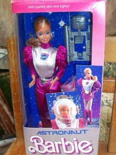 Barbie Astronaut 1985 by super.star.76 via Flickr
