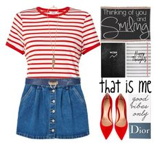 """""""All About Me"""" by grozdana-v ❤ liked on Polyvore featuring Miss Selfridge, Urban Outfitters, MANGO, Gianvito Rossi, Roberto Cavalli, Christian Dior and allaboutme"""