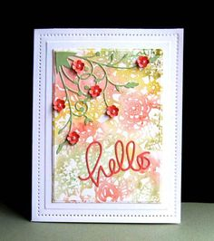 TLC531 Hello Doily by catluvr2 - Cards and Paper Crafts at Splitcoaststampers