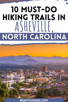 Asheville, NC is a beautiful city surrounded by some of the best hiking trails in the country. If you're interested in exploring some of these trails, you should check out this list of the best hikes in Asheville. This collection of top hiking trails in Asheville includes everything from challenging hikes to excellent hikes for families. Explore the beauty of North Carolina on these most scenic hikes in Asheville. hike|hiking|hiker|best hikes in Asheville|best hiking trails in Asheville Western North Carolina, Asheville Nc, Best Hikes, Hiking Trails, The Great Outdoors, Challenges, Camping, Explore, City