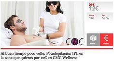 Al buen tiempo poco vello: Fotodepilación IPL en la zona que quieras por 12€ en CMC Wellness en Almeria.