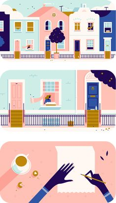 Most current Photos Color Palette illustration Ideas Whether you are novice as well as a well used palm, guidelines for shade can be probably the most co Building Illustration, Flat Illustration, Graphic Design Illustration, Graphic Art, Posca Art, Pretty Drawings, Amazing Drawings, Illustrations And Posters, Photomontage