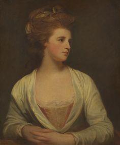 Portrait of a Woman, Said to Be Emily Bertie Pott - George Romney, 1781