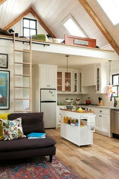 nettie88 Boards - Zillow Digs. I love this! I know we would have to get support beams in, but what a great use of the space.