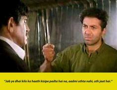18 Iconic Bollywood Dialogues That We'll Keep Saying Till The End Of Time Famous Movies, Hindi Movies, Andaz Apna Apna, Rang De Basanti, Kal Ho Na Ho, Bollywood Wallpaper, 3 Idiots, Movie Dialogues, Bollywood Quotes