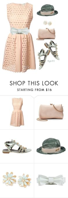 """Spring Pantone"" by birgitte-b-d ❤ liked on Polyvore featuring Fendi, LC Lauren Conrad, Balenciaga and Anne Fontaine"