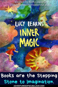 """Lucy Learns Inner Magic- Our exciting """"Lucy Learns Inner Magic"""" is a lovely book that teaches kids to be proud of their talents and abilities. Also, they should not be ashamed or compare themselves to others, but to be empowered by who they are. #kidsstorybooks #magicbooks #storybooks Best Story Books, Kids Story Books, Preschool Curriculum, Magic Book, Pink Nails, Teaching Kids, Adventure, Learning, Illustration"""