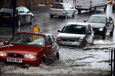 Flooded Roads, Vehicles, Car, Automobile, Rolling Stock, Vehicle, Cars