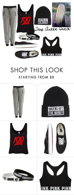 """""""Trap Queen Dance"""" by jenna-elie ❤ liked on Polyvore featuring VILA and Vans"""