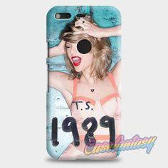 Taylor Swift Poster 1989 Cover Album Taylor Swift Singer Google Pixel Case | casefantasy