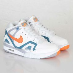 Nike Air Tech Challenge II White / Orange Burst | MATÉRIA:estilo