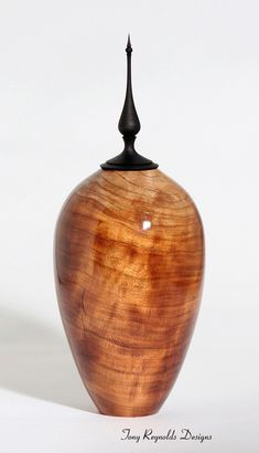 Wood Art -- Cherry Hollow Vessel. $300.00, via Etsy.