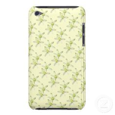 Star of Bethlehem iPod Case iPod Touch Cover ~   This pretty floral iPod case features a repeating abstract pattern of the lovely spring perennial garden plant known as Star of Bethlehem (Ornithogalum umbellatum). Each flower has six white petals and a yellow center.