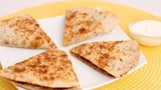 My Sweet Tooth: Sweet Potato & Chorizo Quesadilla Recipe - Laura Vitale - Laura in the K...