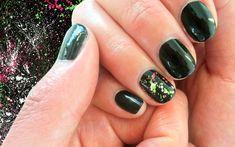 DIY Nail Art Design - Splatter Nails