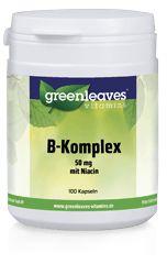 Vitamin-B-Komplex 50 mg mit Niacin