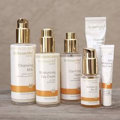 Dr. Hauschka skin care...I only tried the eye cream and it was pretty expensive. i'm curious about the anti age products!