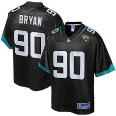 f9e19aeef Taven Bryan Jacksonville Jaguars NFL Pro Line Youth Team Player Jersey –  Black