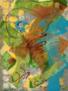 ARABESQUE (detail) by Brenda Drake