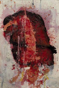 Untitled, Shozo Shimamoto, 1961