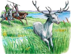 The hungarian wonder Deer- A magyar Csodaszarvas Teaching History, Montessori, Mythology, Deer, Moose Art, Religion, Culture, Clothing, Animals