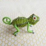 Beadwork animals on wire frames from domestic chickens to wild hippo. : Bazaar…