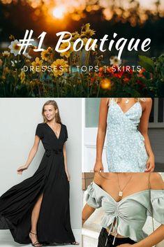 Boutique Dresses, Boutique Clothing, New Dress Collection, Fit Pregnancy, Online Clothing Boutiques, Summer Dresses, Formal Dresses, Clothes For Sale, Style Ideas