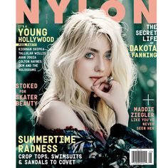 NYLON May Issue, Dakota Fanning