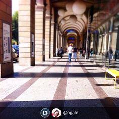 """""""Altro che red carpet. I portici"""" #Torino raccontata da agale per #inTO"""