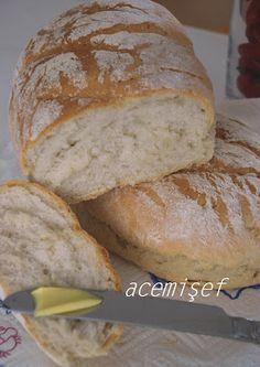 Acemi Sef: Evde (Makinesiz) Ekmek Yapımı...