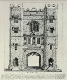 English Historical Fiction Authors: Newgate Gaol - a place to avoid London Bridge, London City, Holly West, Historical Fiction Authors, London Drawing, Titanic Ship, Scotland History, London Wall, England And Scotland