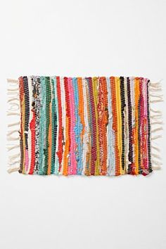 Rag Rug Placemat, would make a nice Barbie size rug.