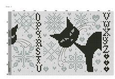 cat alphabet (right)