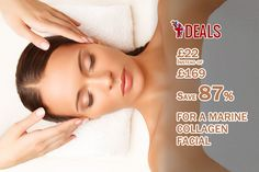 £22 INSTEAD OF UP TO £169 FOR A MARINE COLLAGEN FACIAL, DERMASONIC \'BODY FIRMING\' TREATMENT AND GLASS OF BUBBLY AT FOREVER FLAWLESS, EDINBURGH CITY CENTRE - #SAVE UP TO 87% http://www.grabdeals.today/uk-en/deal_detail/11280