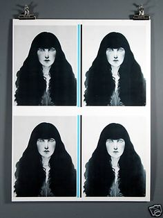 """Ramon Santiago """"Norma"""" Art Print, Rochester NY, 1982"""