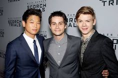 Ki, Dylan and Thomas! Scorch Trials