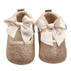 e49e8f6fd152 Shoes for Girls Mary Jane Flats Shoes Kids Newborn Infant Toddler Crib Shoes  Cute Bow Bebe Casual Loafers Princess Shoe Footwear-in Crib Shoes from  Mother ...