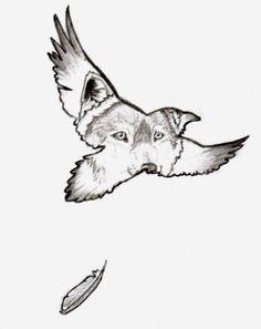 raven and wolf tattoos   Raven Guide - Straydog by #WolfSpirits on deviantART
