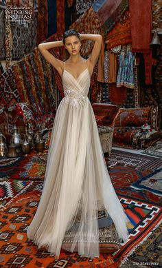 In general, the choice of beach wedding dresses is endless. Such a romantic type wedding is much deserving of a simple sexy wedding dress. Simple Sexy Wedding Dresses, Dresses Elegant, Bohemian Wedding Dresses, Bridal Dresses, Wedding Gowns, Lace Wedding, Bridal Collection, Dress Collection, One Shoulder Wedding Dress