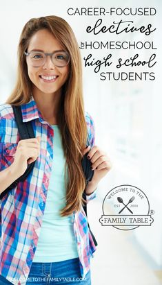 Looking for some great electives for your homeschool high school student? Come see these great career-focused high school homeschool electives! via @carliekercheval