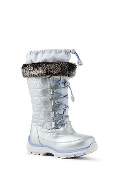 447a90d404d8e Try our Girls Snowflake Boots at Lands  End. Everything we sell is  Guaranteed. Margaret Orciari · Kids winter clothes