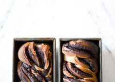 chocolate pull apart bread + orange dates and anise